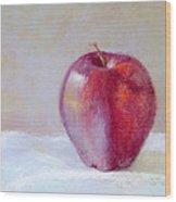 Apple Wood Print by Nancy Stutes