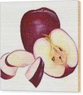 Apples To Apples Wood Print