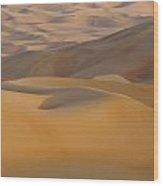 Arabian Sands Wood Print