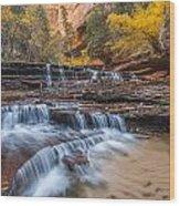 Arch Angel Falls Wood Print by Joseph Rossbach