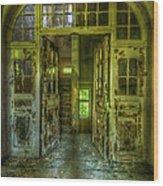 Arch Door Wood Print