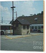 Archer/neva Cta Bus Terminal Wood Print
