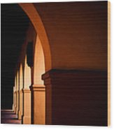 Arches Wood Print