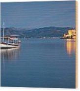 Argolikos Bay Wood Print