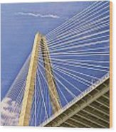 Arthur Ravenel Jr. Bridge 2 Wood Print