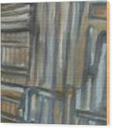 Asylum Wood Print