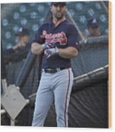 Atlanta Braves V San Francisco Giants Wood Print