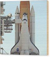 Atlantis Space Shuttle Wood Print