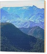 Atlas Mountains 13 Wood Print