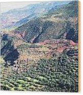 Atlas Mountains 4 Wood Print