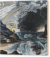 Atmospheric Effects 1846 Wood Print