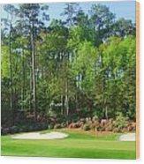 Augusta National - Hole 13 Wood Print by Bo  Watson