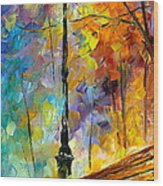 Aura Of Autumn 2 Wood Print