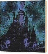 Aurora's Nightmare Wood Print