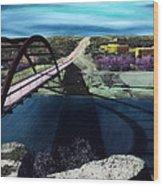 Austin 360 Bridge Wood Print
