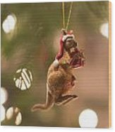 Australian Christmas Wood Print