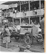 Auto Racing, 1910 Wood Print
