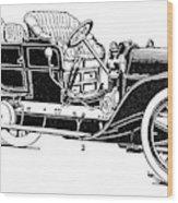 Automobile, 1907 Wood Print