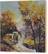 Autumn 673121 Wood Print