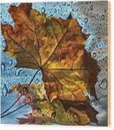 Autumn Fantasy Wood Print
