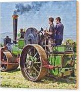 Aveling Roller Wood Print