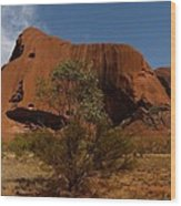 Ayers Rock Wood Print