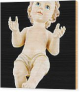 Baby Jesus Wood Print