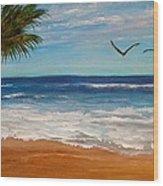 Bahama Breeze Wood Print