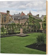 Bakewell Country Gardens - Bakewell Town - Peak District - England Wood Print