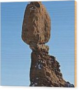 Balanced Rock Arches National Park Utah Wood Print