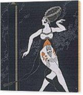 Ballet Scene With Tamara Karsavina Wood Print