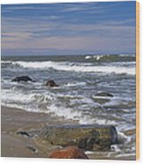 Baltic Sea Wood Print