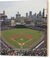 Baltimore Orioles V. Detroit Tigers Wood Print