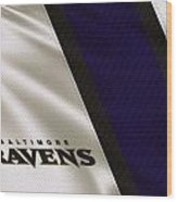 Baltimore Ravens Uniform Wood Print