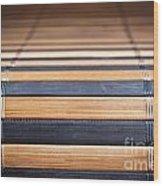 Bamboo Mat Texture Wood Print