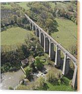 Barbin Sèvre Viaduct, Saint Laurent Wood Print