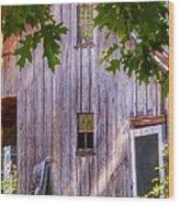 Barn Story Wood Print