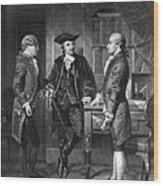 Baron De Kalb (1721-1780) Wood Print