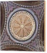 Baroque Church Cupola Dome Wood Print