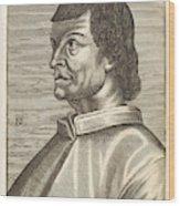 Bartolommeo De Sacchi Known Wood Print