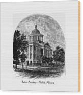 Barton Academy - Mobile Alabama Wood Print