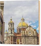 Basilica Of Our Lady Of Guadalupe Wood Print