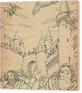 Battle At Unterwaldon Wood Print