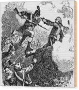 Battle Of Stony Point, 1779 Wood Print by Granger