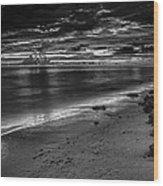 Beach 3 Wood Print
