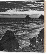 Beach 17 Wood Print