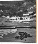 Beach 21 Wood Print