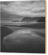 Beach 34 Wood Print