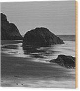 Beach 35 Wood Print