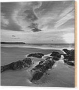 Beach 38 Wood Print